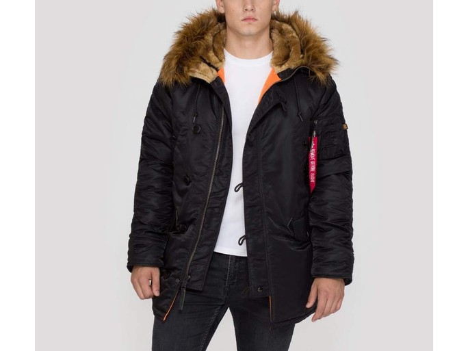 Parka Alpha Industries Inc N-3B VF 59 Black-103141-03-img-1