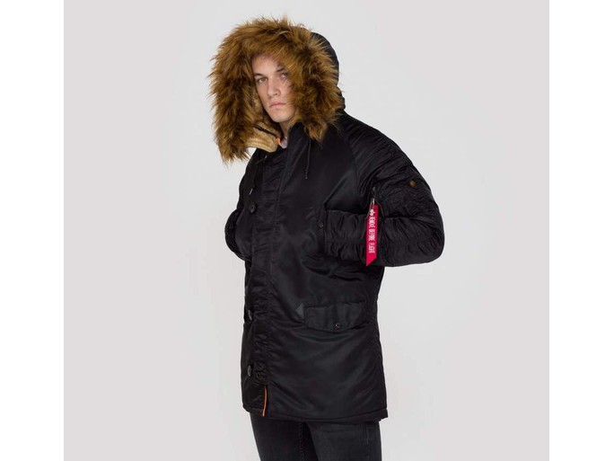 Parka Alpha Industries Inc N-3B VF 59 Black-103141-03-img-2