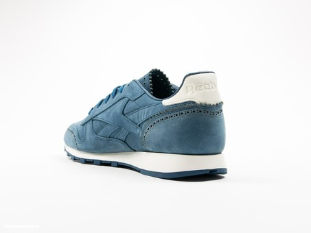Reebok Classic Leather Lux Horween Noble Blue-AQ9962-img-4