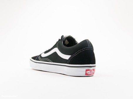 Vans U Old Skool Black White Unisex-VD3HY28-img-3