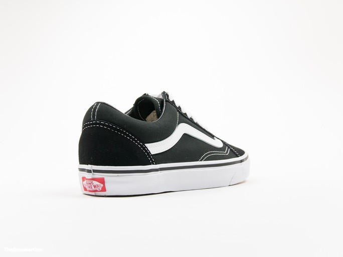 Vans U Old Skool Black White Unisex-VD3HY28-img-4