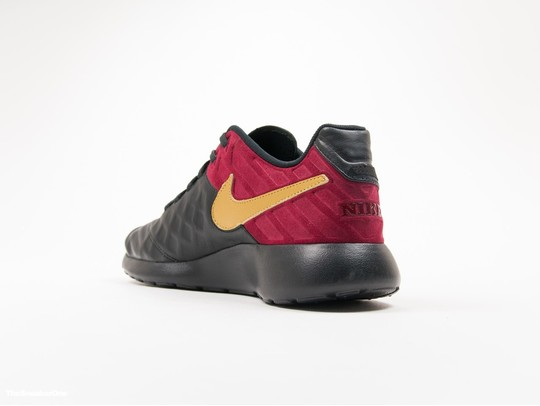 new products f2f3a 34d8c ... Nike Roshe Tiempo VI FC Black Red-852613-001-img-5 ...