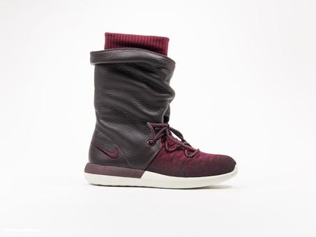 Nike Roshe Two Flyknit Hi Deep Burgundy Wmns-861708-600-img-1