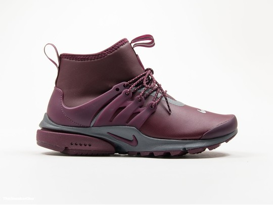 Women's Nike Air Presto Mid-Top Utility Shoe-859527-600-img-1
