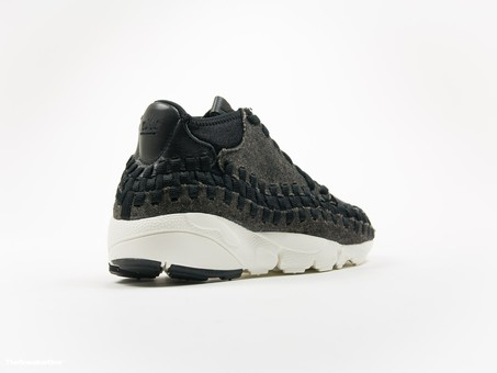 Nike Air Footscape Woven Chukka SE Black Ivory-857874-001-img-4