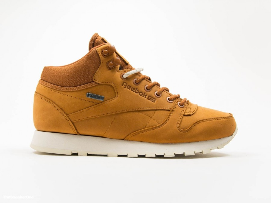 Reebok Classic Leather MID Gore-Tex Brown-AQ9851-img-1