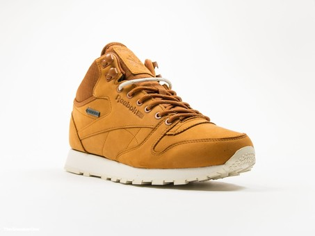 Reebok Classic Leather MID Gore-Tex Brown-AQ9851-img-2