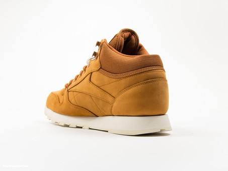 Reebok Classic Leather MID Gore-Tex Brown-AQ9851-img-3