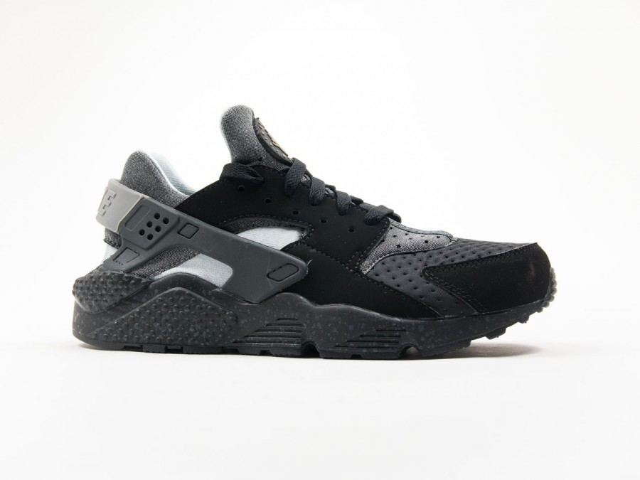 Nike Air Huarache Run SE Black Wolf