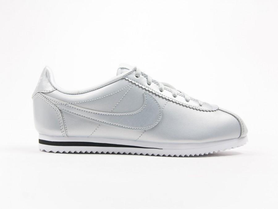 Nike Cortez SE Metalic Silver