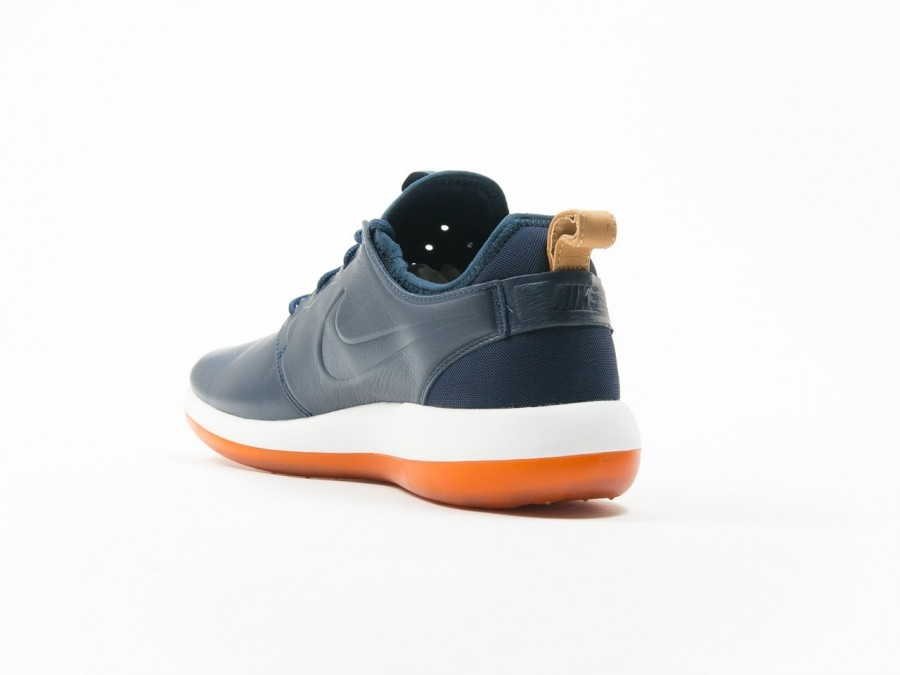 a037d2c4cd3c Nike Roshe Two Leather Premium Obsidian - 881987-400 - TheSneakerOne