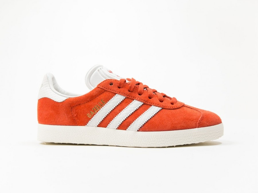 adidas Original Gazelle Orange Wmns-S76026-img-1