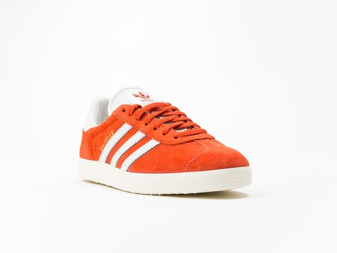 adidas Original Gazelle Orange Wmns-S76026-img-2