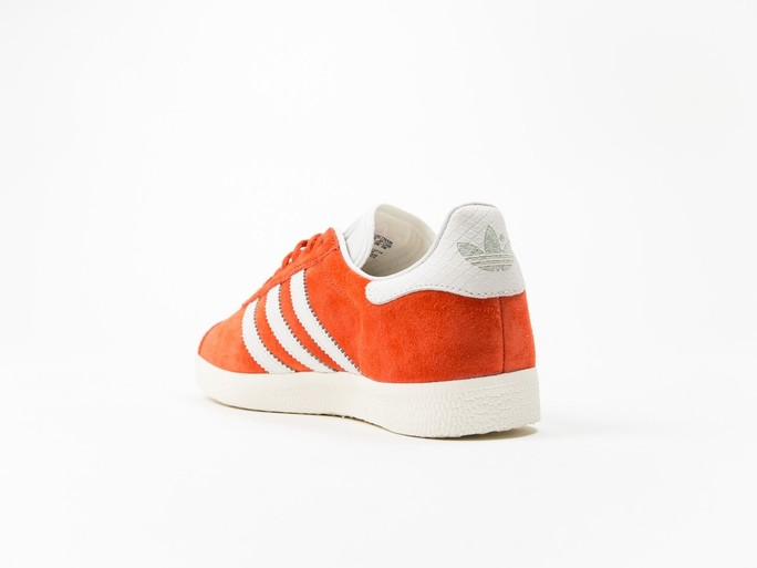 adidas Original Gazelle Orange Wmns-S76026-img-3