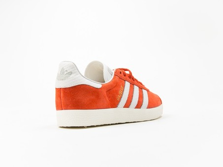 adidas Original Gazelle Orange Wmns-S76026-img-4