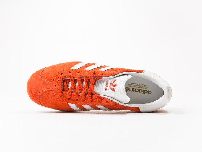 adidas Original Gazelle Orange Wmns-S76026-img-5