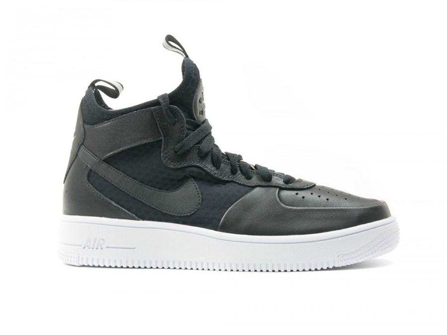 09c42387e5a Nike Air Force 1 Ultraforce Mid Wmns Black - 864025-001 - TheSneakerOne