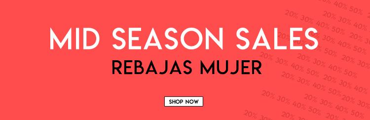 Mid Season Sales rebajas mujer