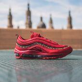 NIKE AIR MAX 97 WMNS LEOPARD RED  Una combinación de colores y texturas únicas en este pack especial, para gente con personalidad.  Ya disponibles en tienda y online.  Link in bio.  #nike #airmax97 #red #leopard #thesneakerone #tso
